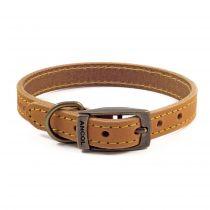 Timberwolf Leather Collar Mustard 26-36cm S