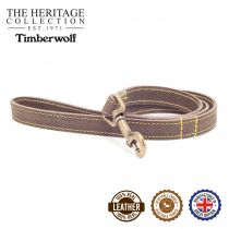 Timberwolf Leather Lead Sable 1mx19mm