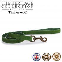 Timberwolf Leather Lead Green 1mx19mm
