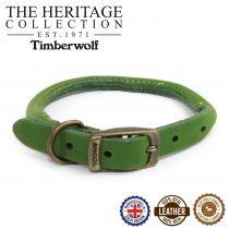 Timberwolf Round Collar Green 28-36cm Size 3