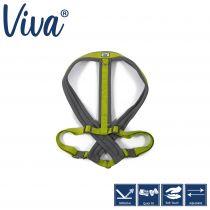 Viva Padded Harness Lime XXL 97-130cm