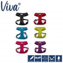 Viva Mesh Dog Harness Blue S 34-45cm
