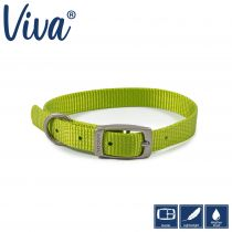 Viva Collar Lime 20-26cm Size 1