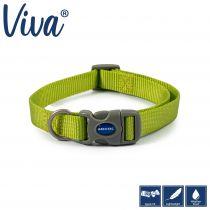 Viva Adjustable Collar Lime 20-30cm Size 1-2