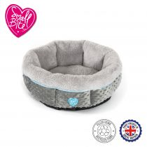 Small Bite Donut Bed 50cm Blue