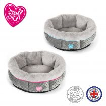 Small Bite Donut Bed 50cm Pink