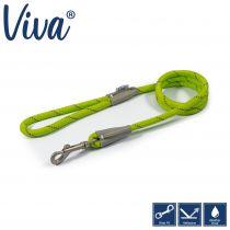Viva Rope Lead Reflective Lime 1.07mx10mm