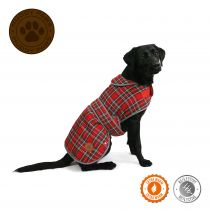 Highland Tartan Dog Coat S