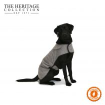 Heritage Brown Herringbone Coat 35cm S/M