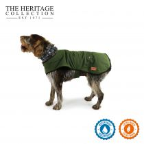 Heritage Green Wax Coat 35cm S/M