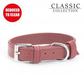 Folded Collar Red 22-26cm XS
