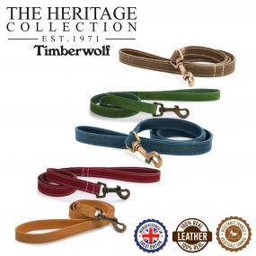Timberwolf Leather Lead Blue 1mx19mm
