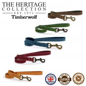 Timberwolf Leather Lead Blue 60cmx19mm