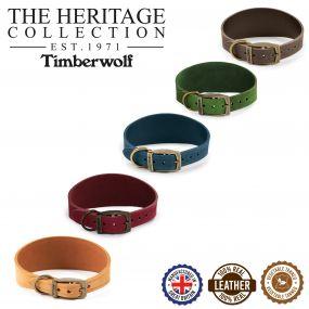 Timberwolf Greyhound Collar Blue 34-43cm