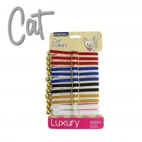12 x Cat Collar Display Cards Standard