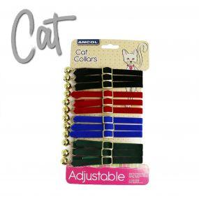 12 x Cat Collar Display Cards Velvet