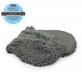 Simply Dry Dog Mitt