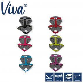 Viva Padded Harness Red S 36-42cm