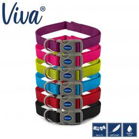 Viva Adjustable Collar Pink 20-30cm Size 1-2