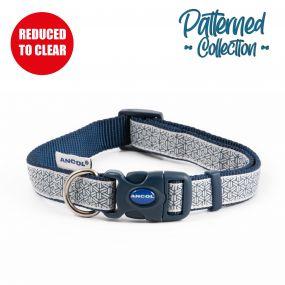 Fashion Collar Geometric Grey Adjustable 45-70cm