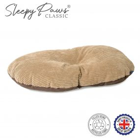 Timberwolf Oval Cushion 45x35cm