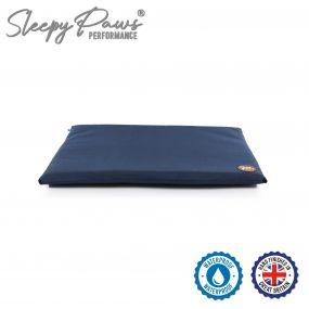 Waterproof Pad Bed 61x46cm Blue