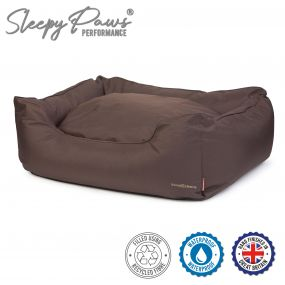 Extreme Waterproof Bed Brown L 78x90cm