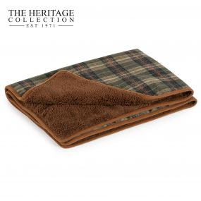 Heritage Green Check Blanket