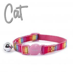Pink Rainbow Cat Collars