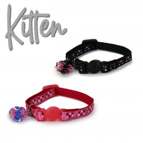 Star Safety Kitten Collar Black