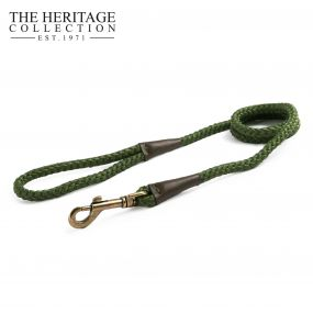 Heritage Rope Lead Green 1.07mx10mm