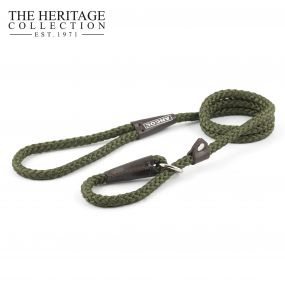 Heritage Rope Slip Lead Green 1.5mx8mm