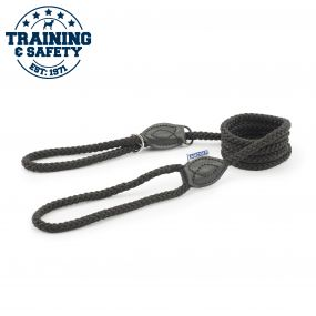 Rope Slip & Control Lead Black 1.5mx12mm