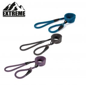 Rope Slip Lead Red/Blue 1.5mx12mm
