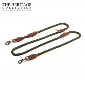 Heritage Rope Multiway Training Lead Green 2mx12mm
