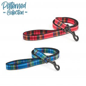 Tartan Lead Blue 1mx19mm