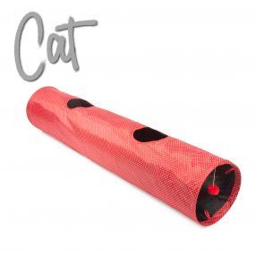 Red Polka Cat Tunnel