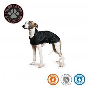Greyhound Dog Coat Black 70cm