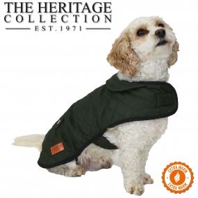 Heritage Quilted Blanket Coat 30cm S