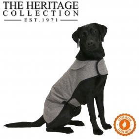 Heritage Brown Herringbone Coat 30cm S