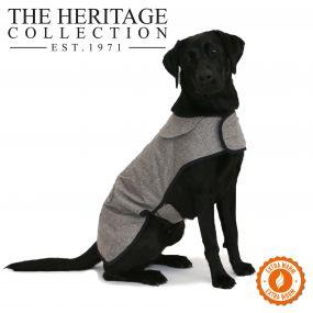 Heritage Brown Herringbone Coat 50cm L