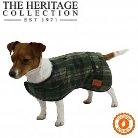 Heritage Green Check Coat 30cm S