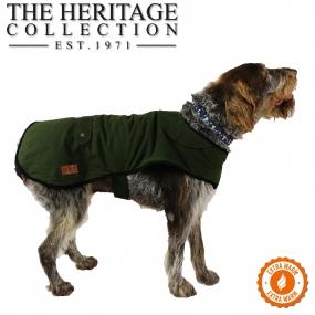 Heritage Green Wax Coat 30cm S