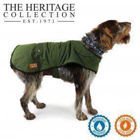 Heritage Green Wax Coat 70cm