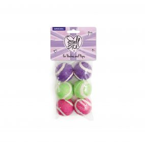 SB Mini Tennis Balls 6pc pack