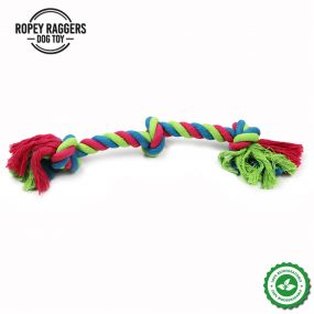 Ropey Ragger 3 Knot Bone
