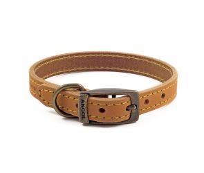 Timberwolf Leather Collar Mustard 26-31cm Size 2