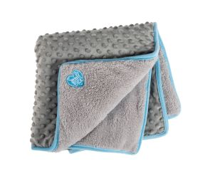 Pocket Blanket 60x60 Blue