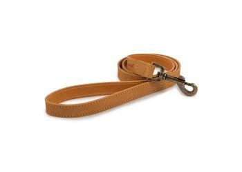 Timberwolf Leather Collar Mustard 46-56cm L
