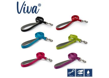 Viva Padded Lead Lime 1mx19mm